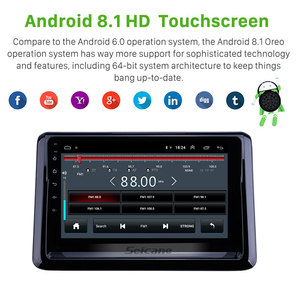 Image 3 - Seicane 2din android 9.1 9 polegada rádio do carro para suzuki s2014 toyota noah estéreo gps multimídia jogador apoio obdii dvr 3g carplay