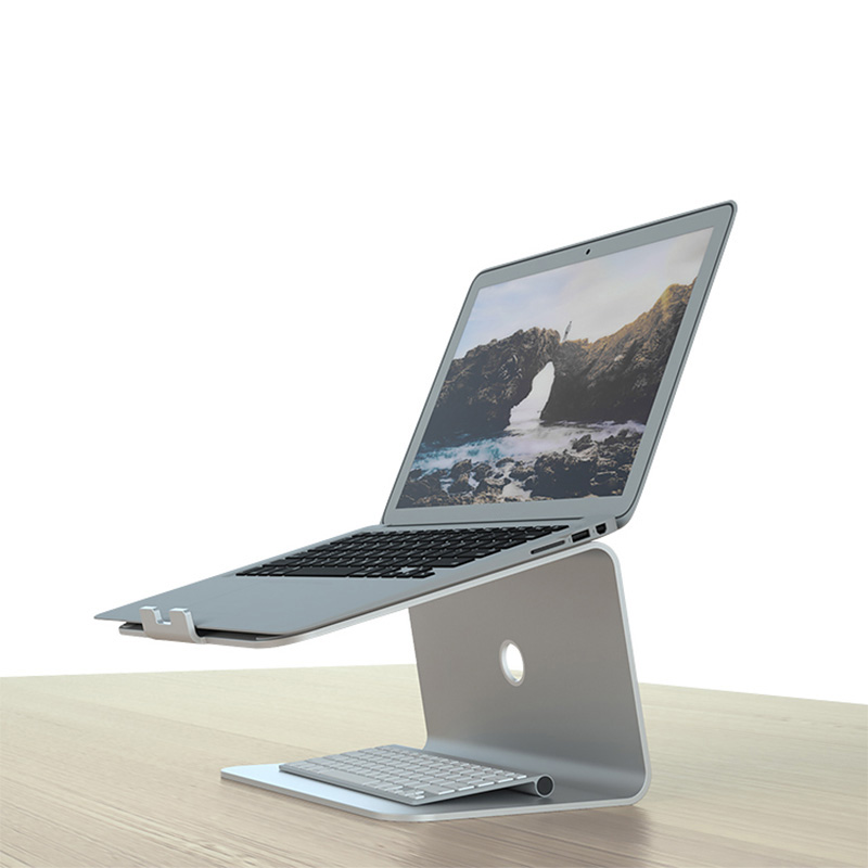 Aluminum Tablet Laptop Holder Stand For Macbook Air Pro Retina 11 12 13 15 Inch Notebook Laptop Cooling Mount For HP Dell(China)