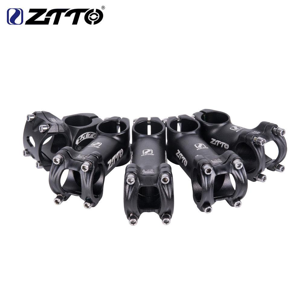 ZTTO 32/60/80/90/100mm High-Strength Lightweight Stand Pipe 31.8mm Stem For XC AM MTB Mountain Road Bike Bicycle Accessaries
