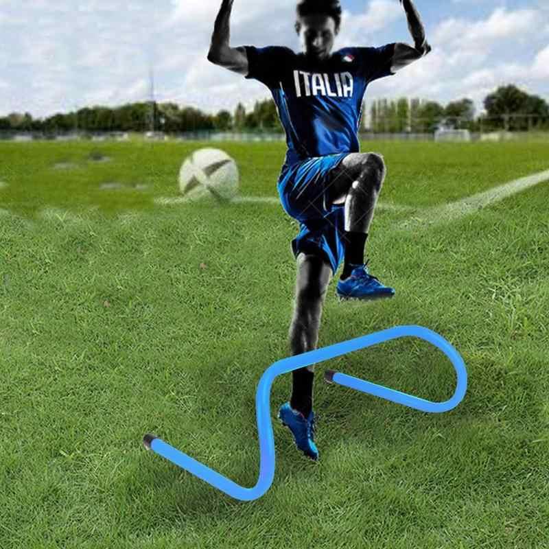 5 Pcs Speed /& Agility Training Hurdles Aid Sport Fitness Soccer Football Folding