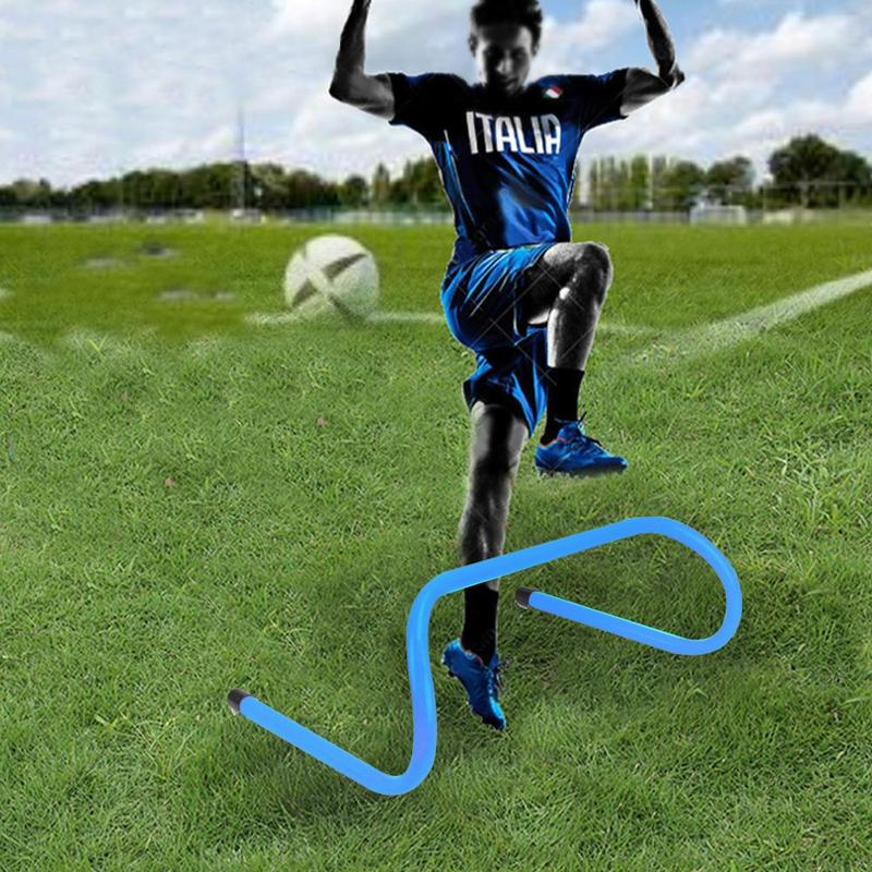 Removeable Football Training Hurdle Endurance Agility Jumping Training Football Hurdle Anti-shatter Sport Training Barrier Frame