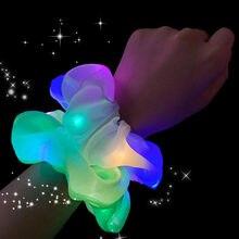 Светящиеся резинки для волос со светодиодной подсветкой девочек