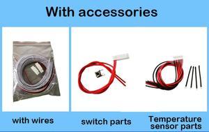 Image 2 - 10 s a 24 s lifepo4 life ion proteção da bateria de lítio 70a/100a/150a/200a/300a inteligente bms bluetooth display lcd 12 s 13 s 14 s 16 s 20 s