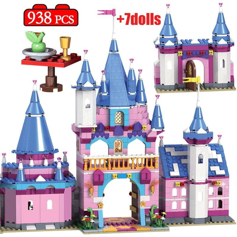 Winner City Romantic Castle Building Block, 938pcs