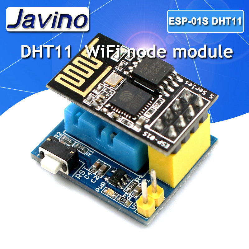 ESP8266 ESP-01 ESP-01S DHT11 Temperature Humidity Sensor Module ESP8266 WIFI NodeMCU Smart Home IOT DIY Kit