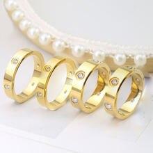 Обручальное кольцо из нержавеющей стали 316l для мужчин и женщин