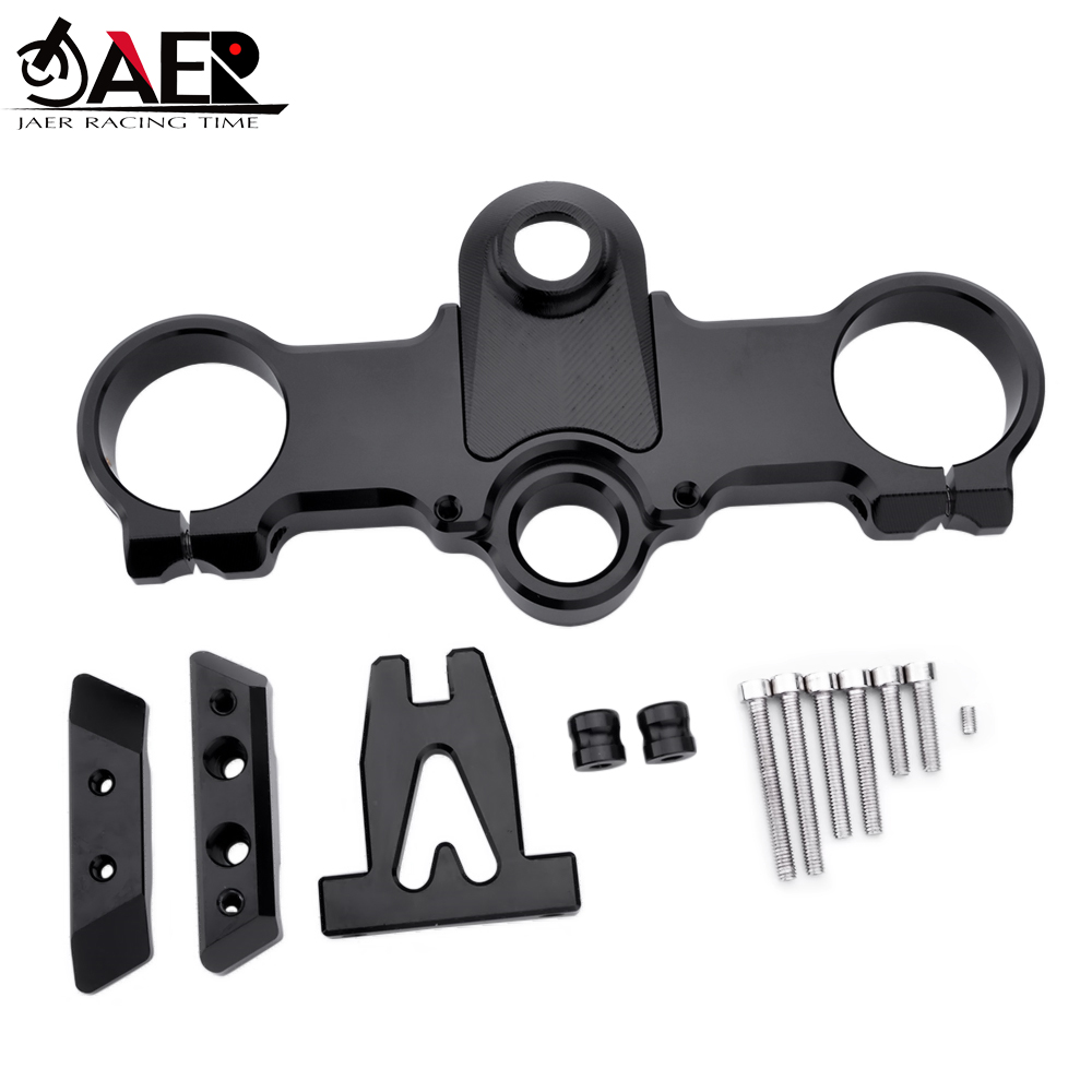 CNC Motorcycle Steering Stabilize Damper Bracket Mount Kit For KTM RC250 RC390 All Years moto Steering Support