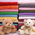 Half Meter 19''x63''/50*160cm Short Plush Fabric Super Soft for Stuffed Doll Toys DIY Handmade Sewing Home Textile Cloth