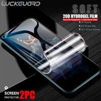 2PC 20D Volle Abdeckung Hydrogel Film Für Huawei Ehre 10 Lite 20 30 Pro V10 V20 V30 Nova 5 6 Se Screen Protector Soft Keine Glas Film