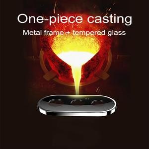 Image 5 - 뒤로 카메라 렌즈 보호대 iphone 11 x xr xs 용 보호 유리 iphone 11 Pro max의 최대 강화 유리 flim 보호 유리