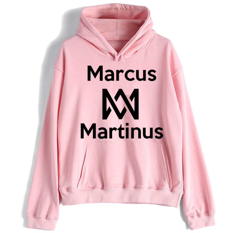 Marcus And Martinus Women Hoodie Korean Harajuku Kawaii Sweatshirt Female Streetwear Oversized Hood Clothing Femme HIP HOP