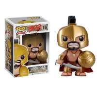 Funko pop Oficial Rei Leônidas 16 #300 O Filme Sparta Vinil Figuras de Ação & Toy Collectible Modelo 10cm brinquedo para Crianças