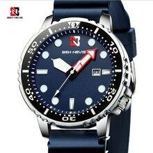 แฟชั่นผู้ชายสีดำนาฬิกาแบรนด์หรูกันน้ำขนาดใหญ่โซนเวลาCircle Designนาฬิกาควอตซ์ผู้ชายRelogio Masculino