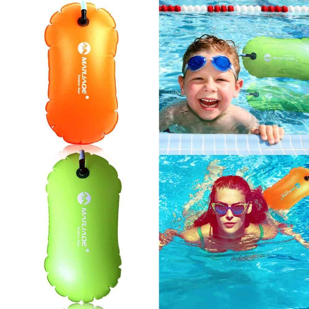 Airbags engrossado inflável natação saco anel float anti-snoring armazenamento impermeável pvc lifebooy bóia evitar afogamento