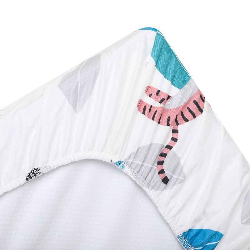 89 Cm * 44 Cm Schommelstoel Wieg Sheet Wieg Lakens Babybed Matras Cradle Covers Print Pasgeboren Beddengoed Set Nieuwe geboren Mini Cot Sheet