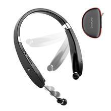 Amorno 넥 밴드 이어 버드 5.0 블루투스 헤드폰 3D 스테레오 무선 이어폰, 마이크 핸즈프리 잡음 제거 스포츠 헤드셋