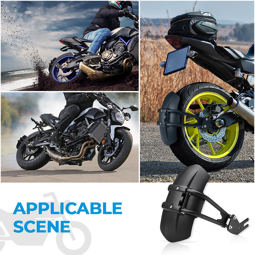 For Yamaha MT07 MT 07 Motorcycle Fender Rear Cover Back Mudguard MT09 MT-09 FZ250/XJR400/XJR1200/FZ1N/FZ6 Splash Guard Protector