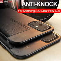 Bumper Case For Samsung Galaxy S20 Ultra Case Luxury Silicone Back Cover Phone Case For Samsung Galaxy S20 S 20 S20 Plus Case
