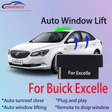 Car OBD Window Closer For Buick Excelle 2009-2014 Auto Lift Device Remote Control Close Open Pause Windows plug and play ns modify universal car power window roll up closer for 4 doors auto close windows remotely close windows car accessories