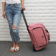 Сумка На Колесиках Женская Большая вместительная сумка-тележка сумка для буксировки Сумка багажная сумка мужские чемоданы Путешествия сумка с колесами