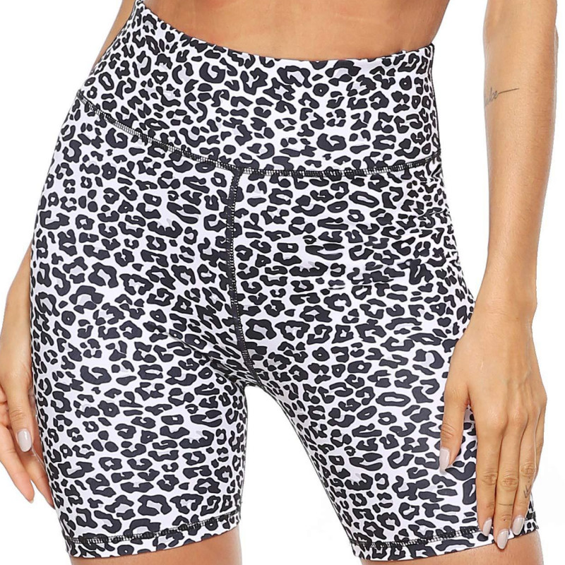 2020 Hot Women Stretch Booty Shorts Elastic High Waist Casual Camouflage / Animal Printed Yoga Capri Short Pants Outfit