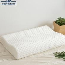 Comfortable Ergonomic Contour Memory Foam Side Sleeper Bed Pillow for Sleeping