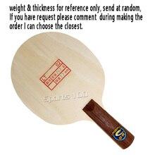 METEOR (Liu Xing) Vintage clásico LT02 (Remake de los años 70) raqueta de tenis de mesa colección de regalos de Ping Pong Bat