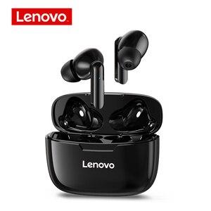 lenovo XT90 Wireless Bluetooth Earphones TWS Earbuds IP54 Waterproof Headphones HiFi Wireless Headset With Mic Sports
