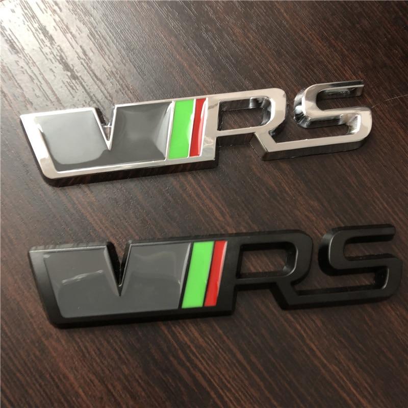 Skoda VRS Car Stickers Octavia Hao Rui Fabia Xin Rui Sports Car Logo Metal Logo Modified Trunk Standard