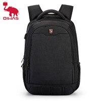 Oiwas-حقيبة ظهر كبيرة السعة ، 15.6 بوصة ، متعددة الوظائف ، شحن USB ، كمبيوتر محمول ، حقيبة مدرسية للمراهقين