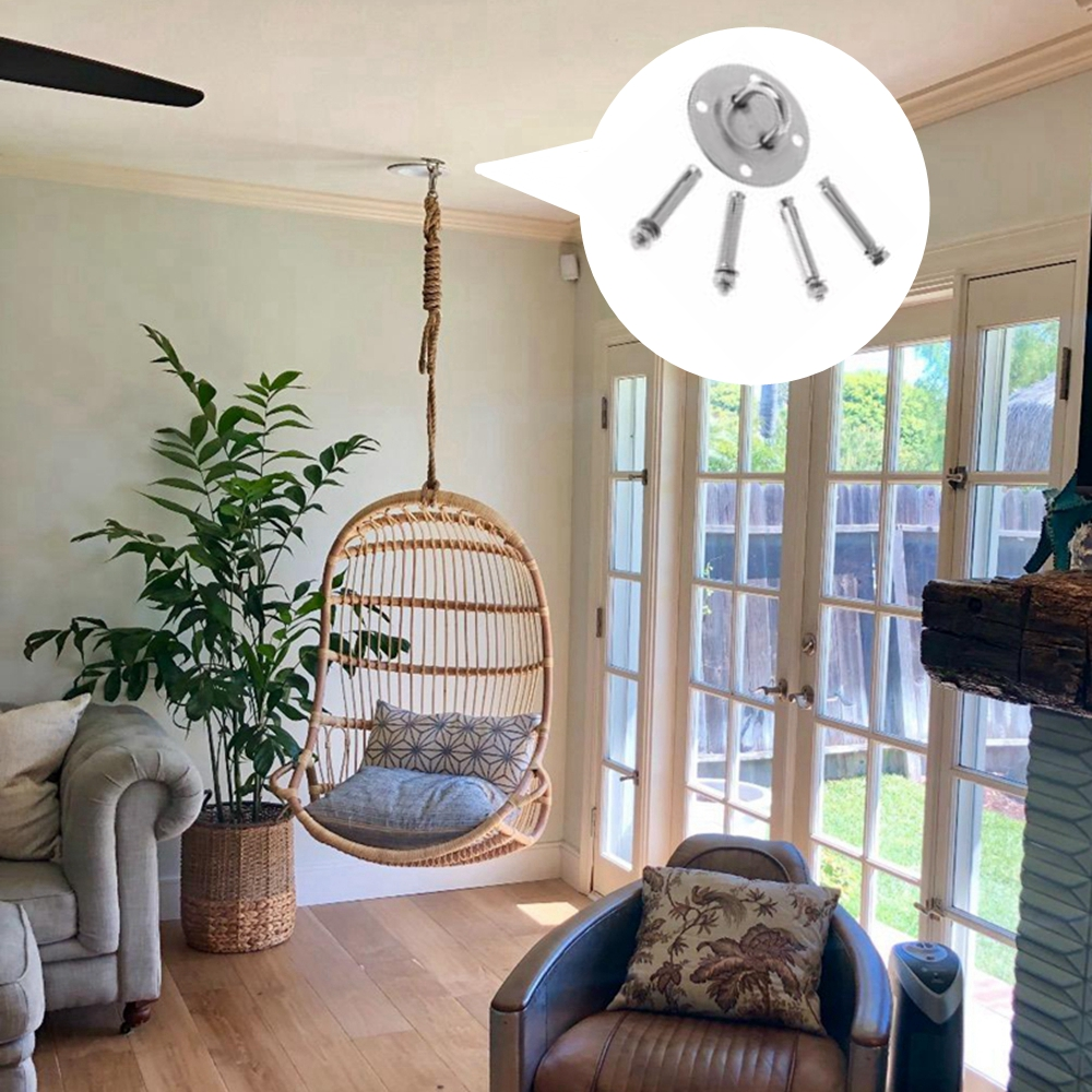 Ultimate SaleSuspension-Hammock-Mount Hangers Swing-Kit Ceiling-Hooks-Bracket Aerial Yoga for Chair
