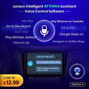 Image 3 - Junsun AI Voice Control 2+32GB Android 10 For LADA ВАЗ Granta Cross 2018 2019 Car Radio Multimedia Video Player Navigation GPS