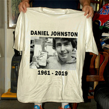 Daniel Johnston Coming To The Paper Tiger Tribute T Shirt Teenage Pop Top Tee Shirt(China)