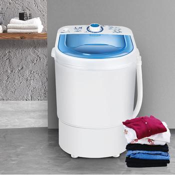 4 5kg Mini pralka pojedyncza wanna dzieci ubrania pralka suszarka mała kompaktowa maszyna przenośna podkładka dziecko Mini pralka tanie i dobre opinie Midea 220 v 250-300 w Klasa 1 Top loading Top otwórz 2 1-4 5 kg