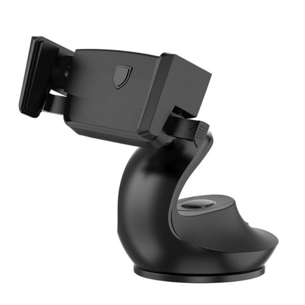 Car Phone Mount Suction Cup 360-Degree Rotatable Smartphone Dashboard Holder