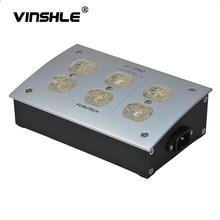 FURUTECH e TP60 AC אספקת חשמל רעש ספיגת מפיץ אלקטרומגנטית גל GC 303 IEC 220V 50/60Hz 15A 15 amp