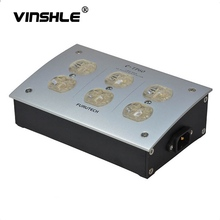 FURUTECH e TP60 AC Power supply noise absorption distributor from electromagnetic wave GC 303 IEC 220V 50/60Hz 15A 15 amp
