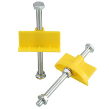 10PCs Manual Tile Locator Wall Tile Adjuster Height Adjustment Locator Leveler Ceramic Fine Tooth Elevation Construction Tool