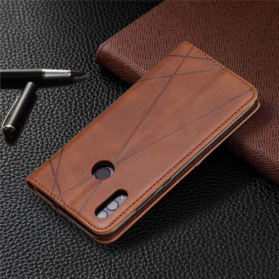 For Huawei Honor 10 Lite Case Leather Wallet Flip Cover Soft Silicone Case for Honor 10i 9X 8A 8S Magnetic Case Card Holder