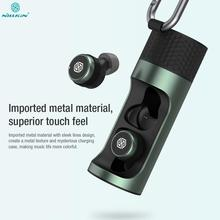 Nillkin ללכת TW004 מיני אלחוטי אוזניות עם מיקרופון CVC שיחת רעש ביטול IPX5 עמיד למים Qualcomm V5.0 אלחוטי Earbud