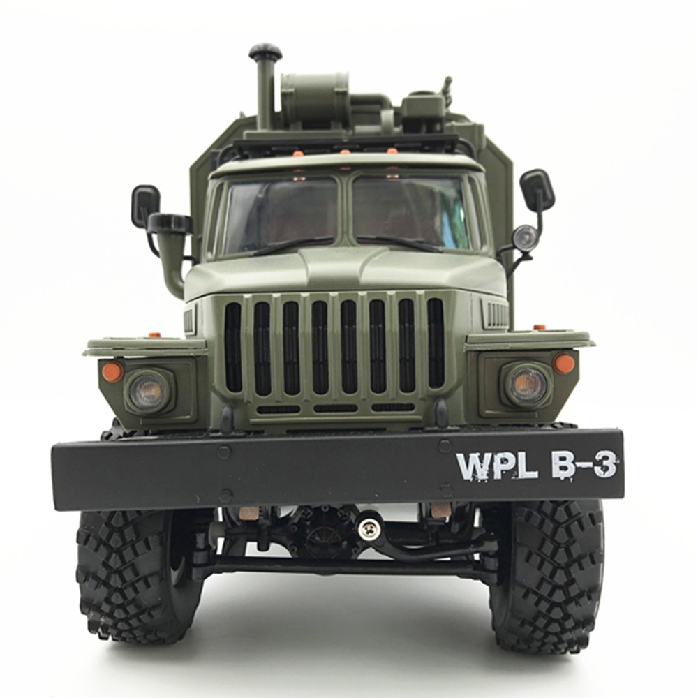 WPL B36 Remote Control Military Command Vehicle RC Car Model 6 Wheel Drive Off-road Remote Control Car