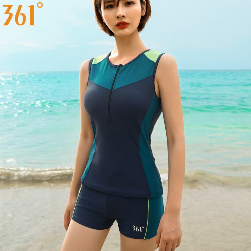361 Two Piece Bathing Suits Women Surf Tankini Baywatch Swimwear For Women 2019 Female Swimsuit Surfing Girls Swimming Suits