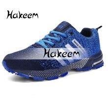 Мужская обувь размера плюс 47; мужская повседневная обувь высокого качества; коллекция года; сезон весна-осень; сетчатые кроссовки; Легкие дышащие мужские кроссовки; размеры 46-48
