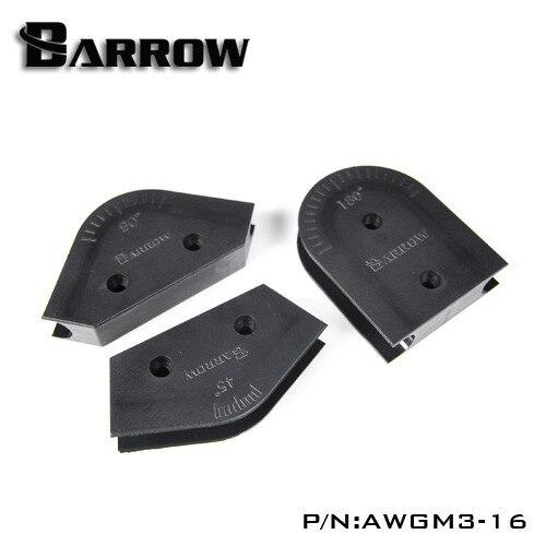 Barrow AWGM3, OD12 / 14/16 Acrylic / PMMA / PETG Hard Tube Bending Form Kits, For Hard Tubes