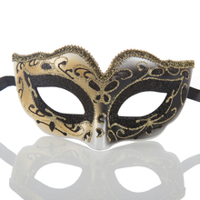 1pc Half Face Masquerade Mask Painted Beauty Masks Fashion Venice Party Toys Movie Theme Props Supply New