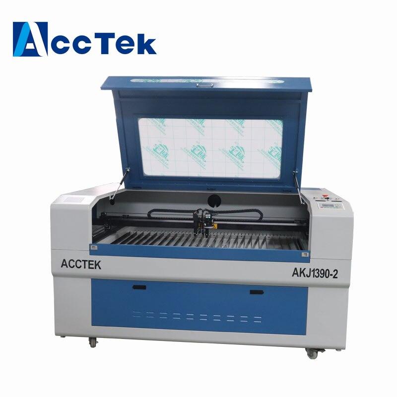 Machine de gravure laser co2 caméra CCD 1390 double tête laser tube 100W machine de découpe laser