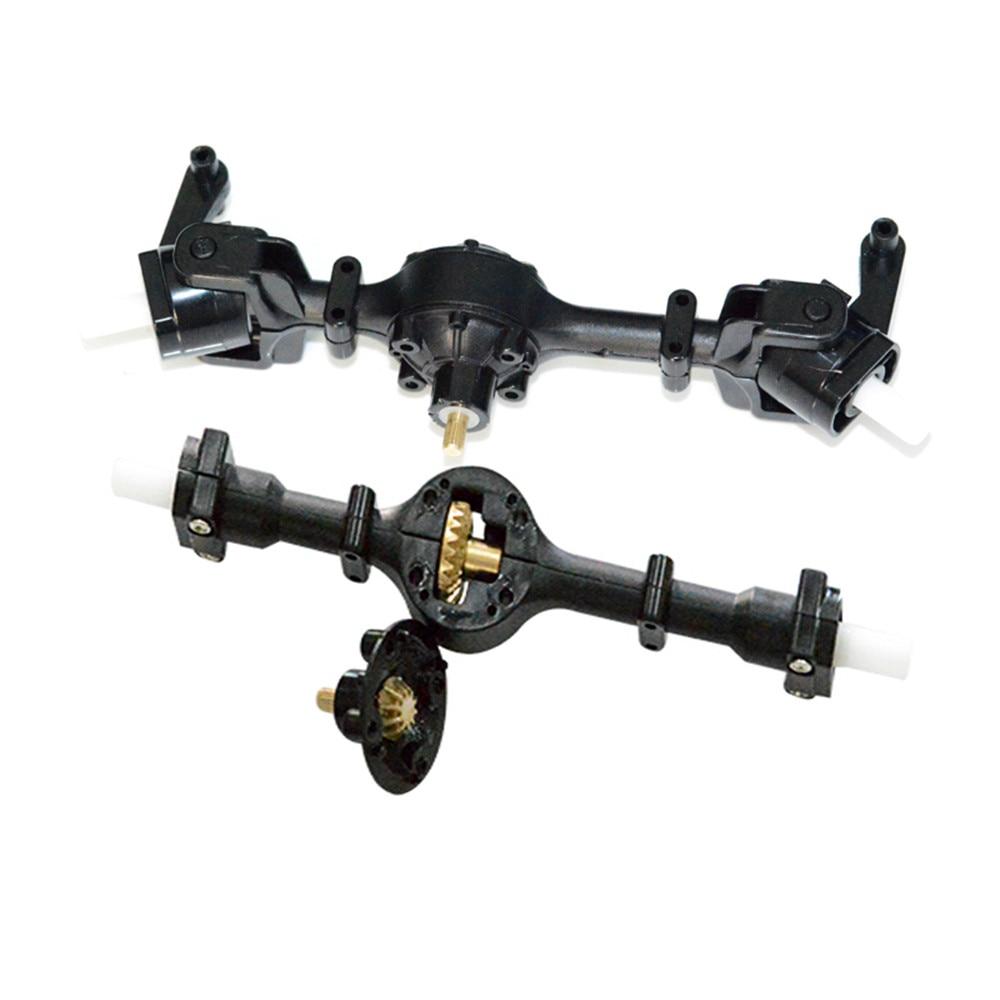 Front Rear Bridge Axle W/ Metal Gear For WPL B14 B24 C14 C24 Fayee FY001 FY002 Rc Car Parts