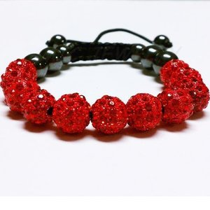 fashion! red 10mm 11x Disco Ba