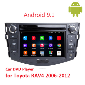 2din Android 9.1 Car DVD player for Toyota RAV 4 2006 2007-2012 Multimedia Video radio Navigation GPS 2 Din Head Unit autoradio image