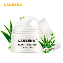 LANBENA חטט Remover מסיכת הפנים רצועה נקבובית שחור קילוף האף מסכת אקנה טיפול יוניסקס עמוק ניקוי טיפוח עור יופי